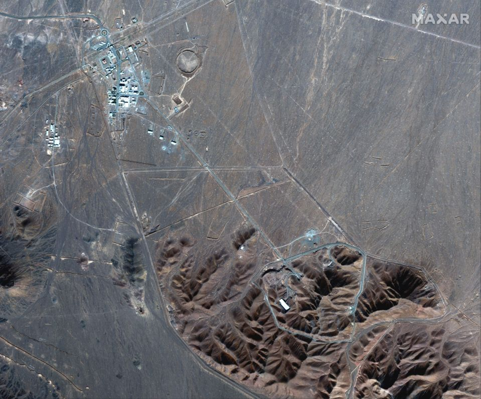 The Daily Reports 239b2c5037553d69060b48363d259dc4 Iran builds at underground nuclear facility amid US tensions
