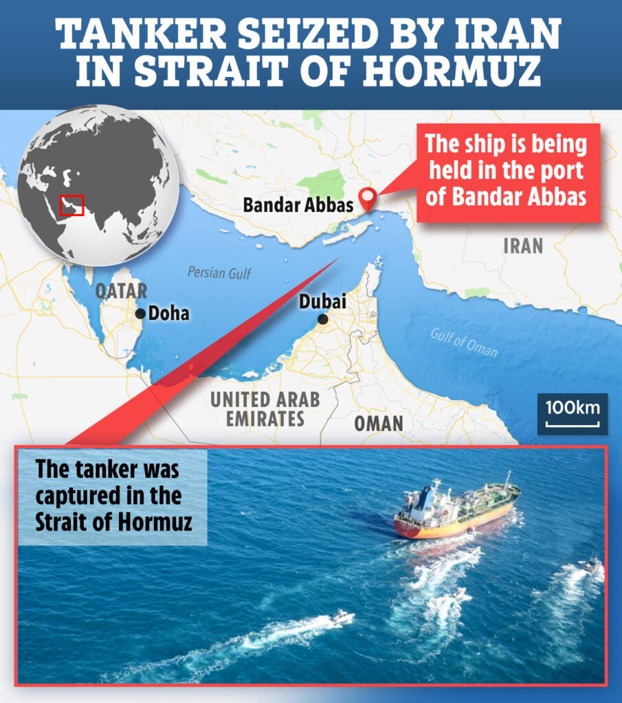 The Daily Reports JW-COMPOSITE-MAP-PERSIAN-GULF-1-905x1024 Iran seizes South Korean-flagged oil tanker